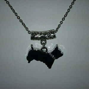Jewelry - SILVER TERRIER BREED'S DOG NECKLACE